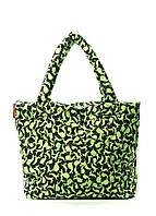 Дута жіноча сумка зелена зайчата Poolparty 65 Green Rabbits