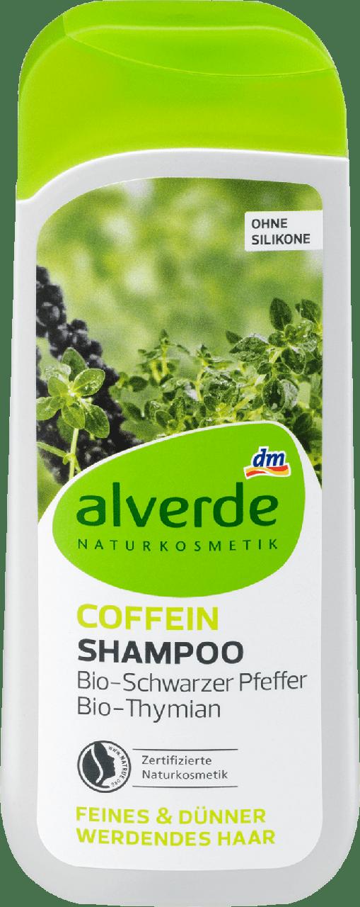 Шампунь против выпадения волос alverde NATURKOSMETIK Coffein, 200 ml