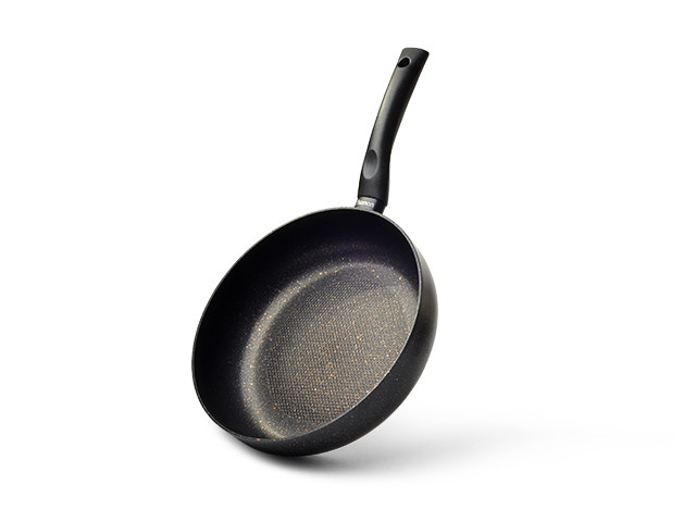Сковорода глубокая PROMO Fissman  26 см (Каменное антипригарное покрытие с индукционным дном)
