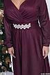 Нарядное вечернее платье красное размеры: 48-50,50-52, фото 4
