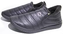 Мужские полуботинки 33-07 черные (размер 42)