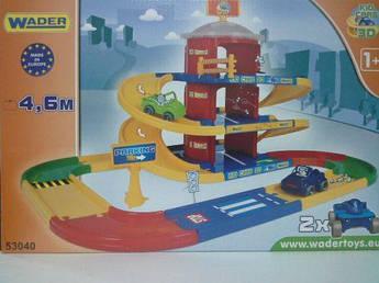 """Трек с паркингом """"Kid Cars 3D"""" (4,6 м)"""