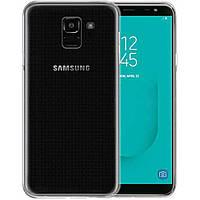 Силіконовий чохол Samsung Galaxy J6 (2018) Прозорий