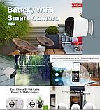 Автономна вулична IP бездротова відеокамера KOPA PST-DB04-8B WI-FI, фото 2