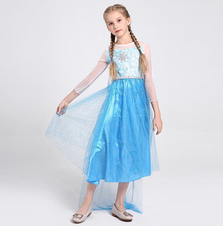 Карнавальный костюм - Эльзы, холодное сердце