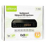 Цифровой тюнер T2 Optima T-701, фото 5