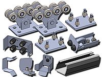 Комплект фурнитуры для откатных ворот SP-7 STANDART PRO
