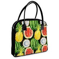 Женская сумочка Oxford Экзотические фрукты (OXF_CLF002_BL)