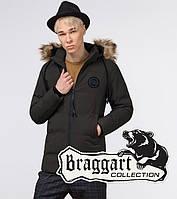 Braggart Youth | Куртка зимняя молодежная 13-25 лет 25550 кофе