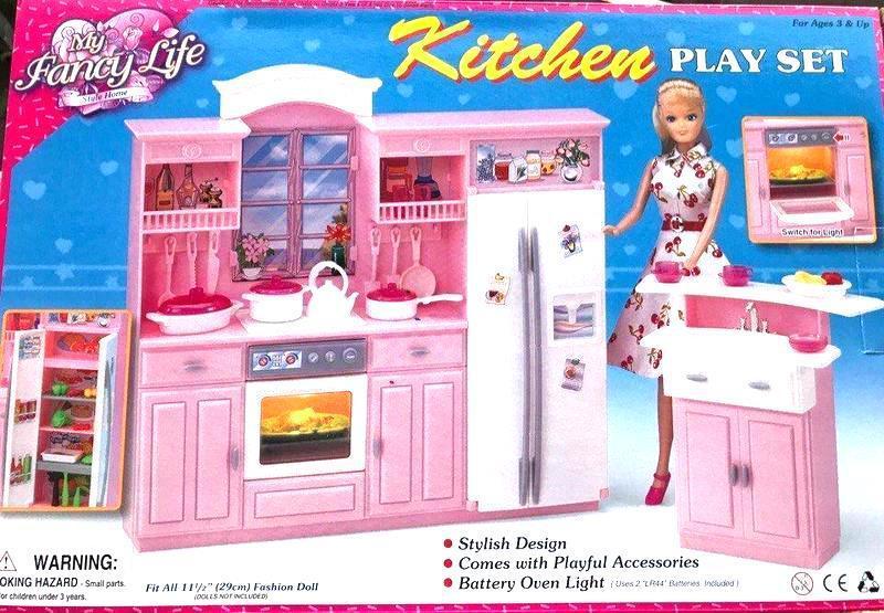 Мебель для кукол Gloria 24016 Кухня