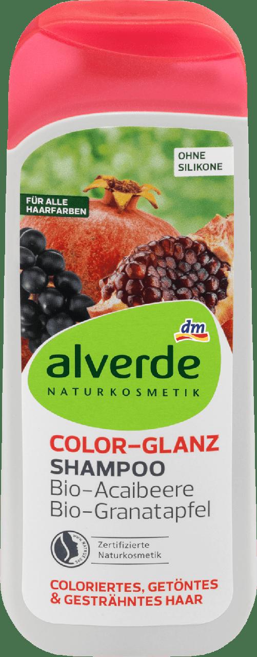 Шампунь для окрашенных волос alverde NATURKOSMETIK Color Glanz, 200 ml