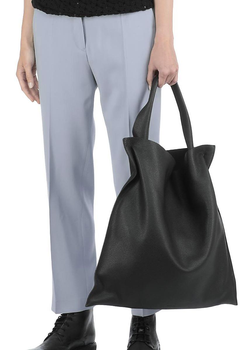 d56a417d1a20 Сумка шкіряна жіноча чорна / Кожаная женская сумка чёрная Poolparty Bohemia  Black - abaz.com