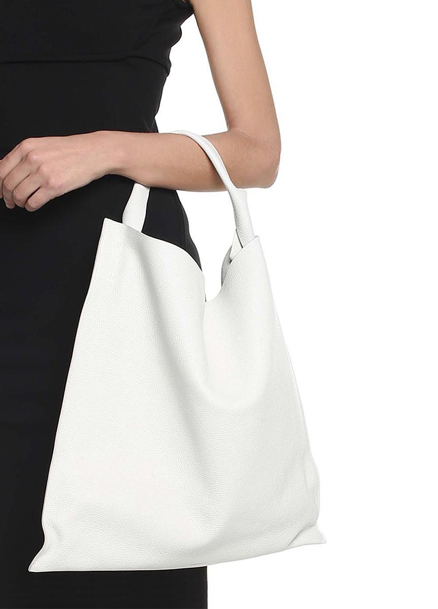 Сумка шкіряна жіноча біла   Белая кожаная женская сумка Poolparty Bohemia  White 2a09d054c6fd6