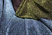 Диско. фисташка ( тот что зеленый). Ткань трикотаж люрекс сплошной. мягкая стрейч, фото 1