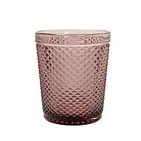 "Набор стаканов ""Амбер"" розовых низкий 300 мл, 34215-15-5"