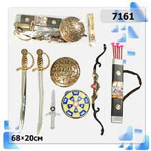Піратський Лицарський набір 7161 цибулю щит меч ніж мішень