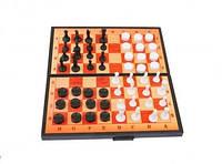 Шахи 2 в 1 (шашки+шахи)  (арт.5197) -/30