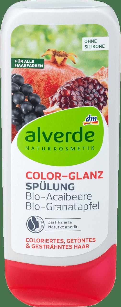 Кондиционер для окрашенных волос alverde NATURKOSMETIK Color Glanz, 200 ml