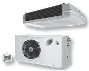 Холодильные сплит-системы с малым уровнем шума напольного монтажа серии HT ( Турция )
