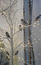 Декоративный светильник береза, дерево бонсай 1,80 м 180 лед ip44, фото 3
