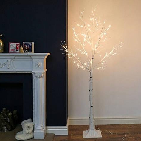 Декоративный светильник береза, дерево бонсай 1,80 м 180 LED , IP44, фото 2