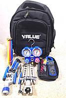 Набор VTB - 8C: манометрический коллектор, вальцовка, тестер, риммер... VALUE