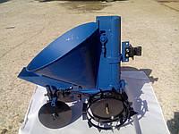 Картофелесажалка ТМ Шип (цепная, 20 л) с бункером для удобрений, фото 1