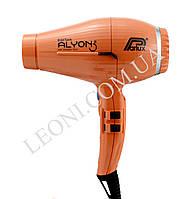 Профессиональный фен для волос 2250 w Parlux Alyon оранжевого цвета