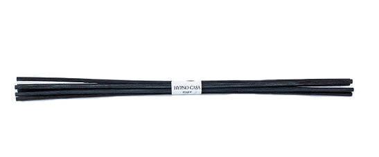 Палочки для Диффузора 25 см, (7 шт) . 200 мл. - Черные 1147G-HYP Hypno Casa