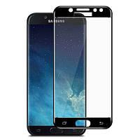 Защитное стекло 5D Samsung Galaxy J4 (2018) / J400 Черный