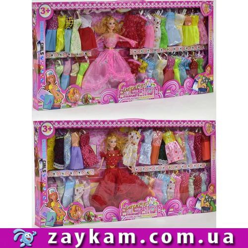 Лялька Барбі Барбі з нарядами, сукнями 88088С, в коробці