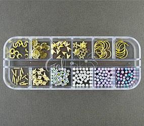 Набор с декором для дизайна ногтей, N2