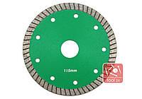 Супер тонкий алмазный диск для резки гранита, твердой керамики 115мм Palmina S