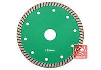 Супер тонкий алмазный диск для резки гранита, твердой керамики 125мм Palmina S