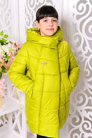 Куртка зимняя «Ольга», лайм р 122, фото 1