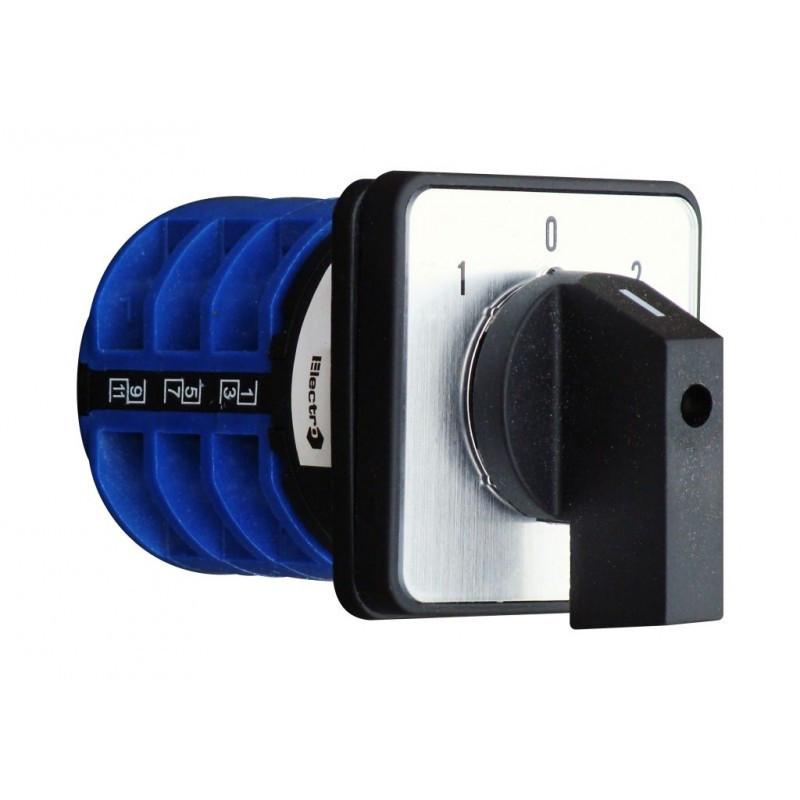 Переключатель кулачковый ПКП 3 П 25А 1-0-2 380В
