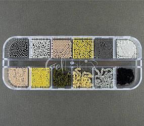 Набор с декором для дизайна ногтей, N3