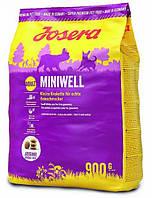 Корм для собак Josera Miniwell (Йозера Минивель) для мини пород, 15 кг