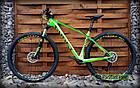 """Велосипед 29"""" Ghost Lector 2.9 LC U карбоновый салатовый (2018) M (рост 165-180 см), фото 6"""