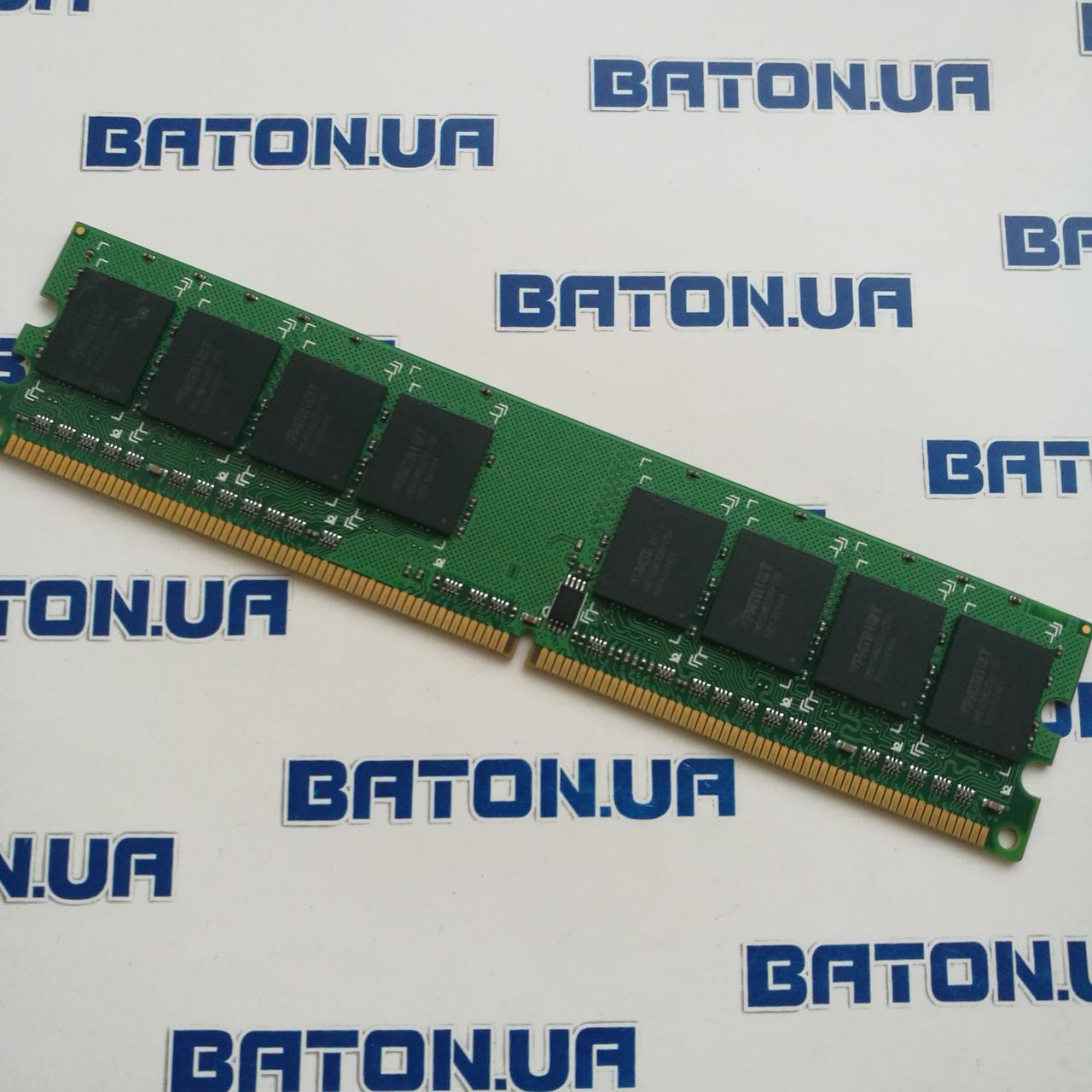 Оперативная память Patriot DDR2 4Gb 800MHz PC2 6400U CL6 (PSD24G8002)