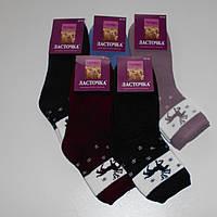 Женские махровые носки Ласточка - 20.00 грн./пара (Махра с начёсом, олень), фото 1