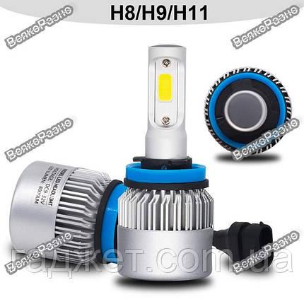 Лампы в авто YHKOMS H8/H9/Н11.  Светодиодные лампы YHKOMS H8 H9 Н11, фото 2