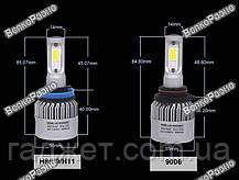 Лампы в авто YHKOMS H8/H9/Н11.  Светодиодные лампы YHKOMS H8 H9 Н11, фото 3