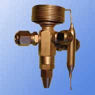 Вентиль терморегулирующий Т1-22 внутреннее уравнивание  (Китай)
