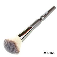 Кисть для тональной основы, пудры, румян, бронзаторов maXmaR MB-163