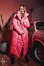 Зимнее Пальто-одеяло на завязках 60pt160, фото 2