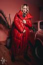 Зимнее Пальто-одеяло на завязках 60pt160, фото 4