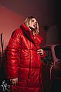 Зимнее Пальто-одеяло на завязках 60pt160, фото 5