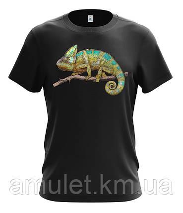 """Летняя  футболка мужская  """"Хамелеон"""", фото 2"""