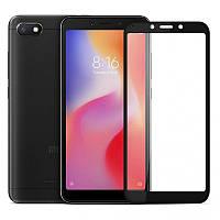 Защитное стекло Xiaomi Redmi 6A 5D Черный